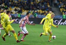 Кубок мира 2018 ФИФА квалифицируя: Украина v Хорватия Стоковая Фотография RF