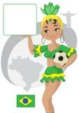 Кубок мира футбола Стоковое Изображение RF