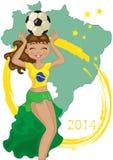 Кубок мира футбола Стоковые Изображения RF