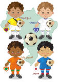 Кубок мира c футбола Стоковые Изображения RF