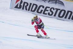 Кубок мира 12/28/2017 freeride Bormio катаясь на лыжах Стоковые Фотографии RF