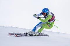 Кубок мира 12/28/2017 freeride Bormio катаясь на лыжах Стоковое фото RF