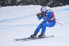 Кубок мира 12/28/2017 freeride Bormio катаясь на лыжах Стоковое Фото