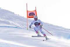 Кубок мира 12/28/2017 freeride Bormio катаясь на лыжах Стоковое Изображение