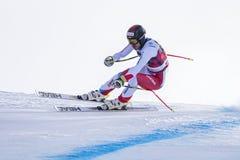 Кубок мира 12/28/2017 freeride Bormio катаясь на лыжах Стоковое Изображение RF