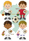 Кубок мира g футбола Стоковое Изображение RF