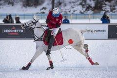 Кубок мира Sankt Мориц 2016 поло снега Стоковое Фото