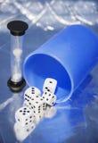 Кубы в  пластмассы Ñ вверх Стоковые Изображения RF