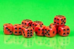 Кубы для настольных игр Стоковое Фото