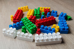 Кубы дизайнера ` s детей стоковые фото