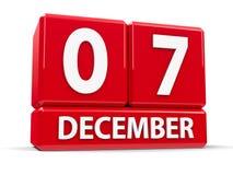 Кубы 7-ое декабря бесплатная иллюстрация