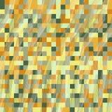 Кубы пиксела Безшовная картина для обоев, предпосылки интернет-страницы Стоковые Изображения RF