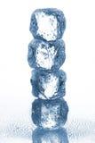 Кубы льда Стоковые Фотографии RF