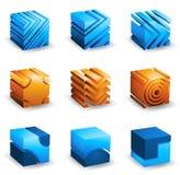 Кубы Стоковое фото RF