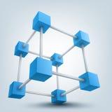 кубы 3d Стоковая Фотография RF