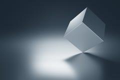 Куб металла бесплатная иллюстрация