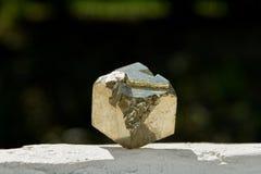 Куб пирита Стоковая Фотография