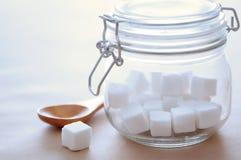 Куб сахара Стоковое Изображение