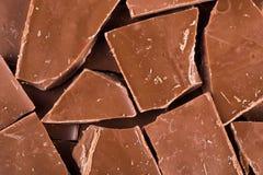 Куб шоколада Стоковое Изображение RF