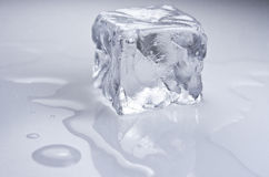 Куб льда стоковые изображения rf