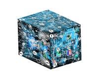 Куб Стоковые Изображения