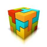 Куб Стоковая Фотография