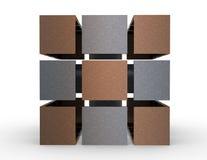 Куб 3d Стоковая Фотография