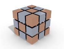 Куб 3d Стоковые Фото