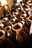 Кувшин сделанный глиной стоковые фото