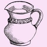 Кувшин для воды или молока Стоковое Фото