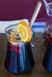 Кувшин sangria Стоковые Изображения RF