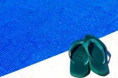 Кувырки бассейном Стоковая Фотография