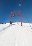 кудель лыжи веревочки Стоковое Фото