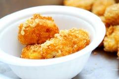 кудрявая картошка мякишей Стоковое Фото