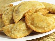 кудрявые empanadas Стоковая Фотография RF
