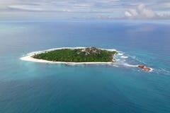 Кузен, Сейшельские островы стоковая фотография