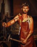 Кузнец Hephaestus стоковое изображение