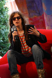 кузнец patti интервью Стоковая Фотография RF