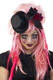 кукла готская стоковая фотография