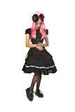 кукла готская стоковая фотография rf
