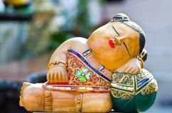кукла деревянная Стоковая Фотография RF