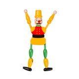 кукла деревянная стоковое изображение rf