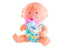 кукла изолировала Стоковые Изображения RF