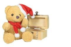 Кукла медведя рождества Стоковое Фото