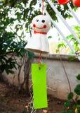 Кукла передвижной смертной казни через повешение белая керамическая Стоковые Фото