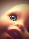кукла пугающая стоковая фотография rf