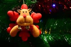 Кукла рождества для brosur и знамени Стоковые Фото