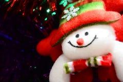 Кукла рождества для brosur и знамени Стоковое Изображение RF