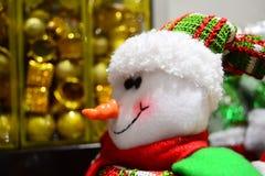 Кукла рождества для brosur и знамени Стоковая Фотография