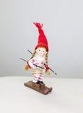 Кукла сезона зимы стоковое изображение